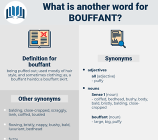 bouffant, synonym bouffant, another word for bouffant, words like bouffant, thesaurus bouffant