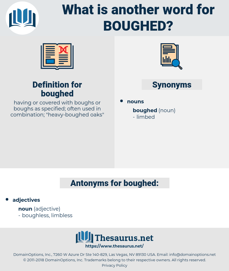 boughed, synonym boughed, another word for boughed, words like boughed, thesaurus boughed