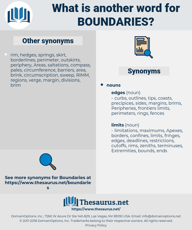 Boundaries, synonym Boundaries, another word for Boundaries, words like Boundaries, thesaurus Boundaries