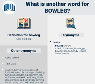 bowleg, synonym bowleg, another word for bowleg, words like bowleg, thesaurus bowleg