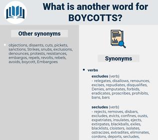 boycotts, synonym boycotts, another word for boycotts, words like boycotts, thesaurus boycotts