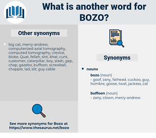 bozo, synonym bozo, another word for bozo, words like bozo, thesaurus bozo