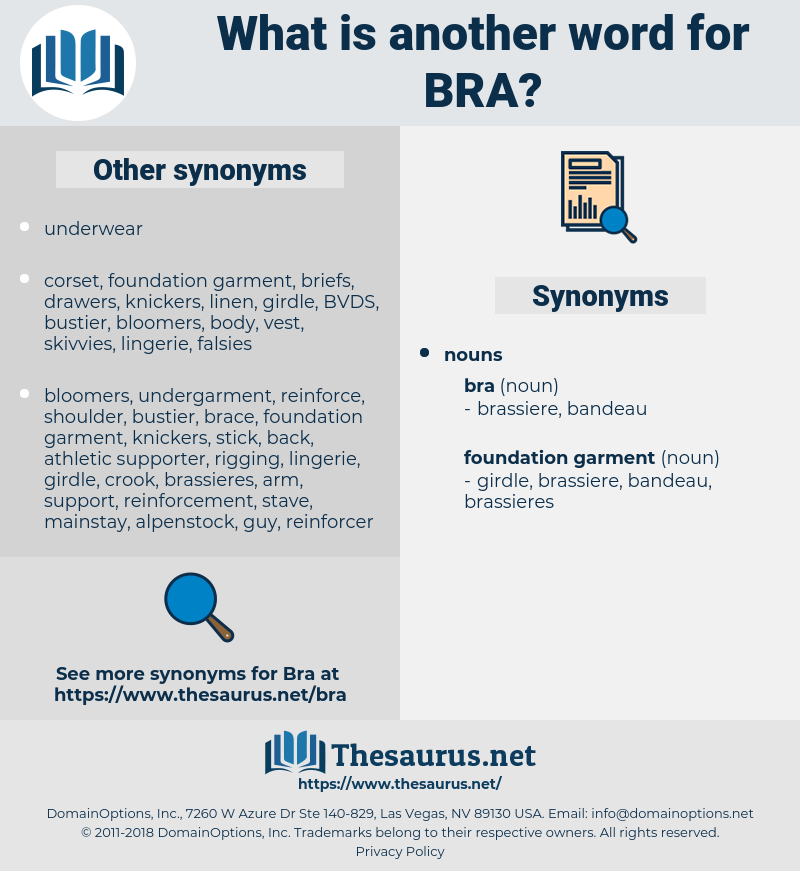 bra, synonym bra, another word for bra, words like bra, thesaurus bra