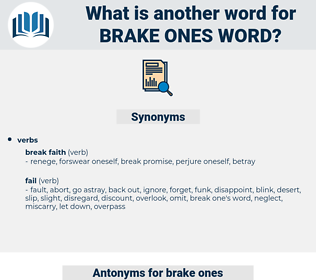 brake ones word, synonym brake ones word, another word for brake ones word, words like brake ones word, thesaurus brake ones word