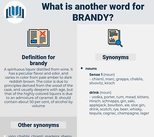 brandy, synonym brandy, another word for brandy, words like brandy, thesaurus brandy