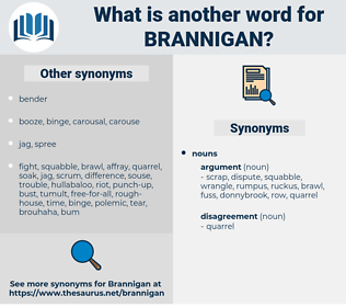brannigan, synonym brannigan, another word for brannigan, words like brannigan, thesaurus brannigan