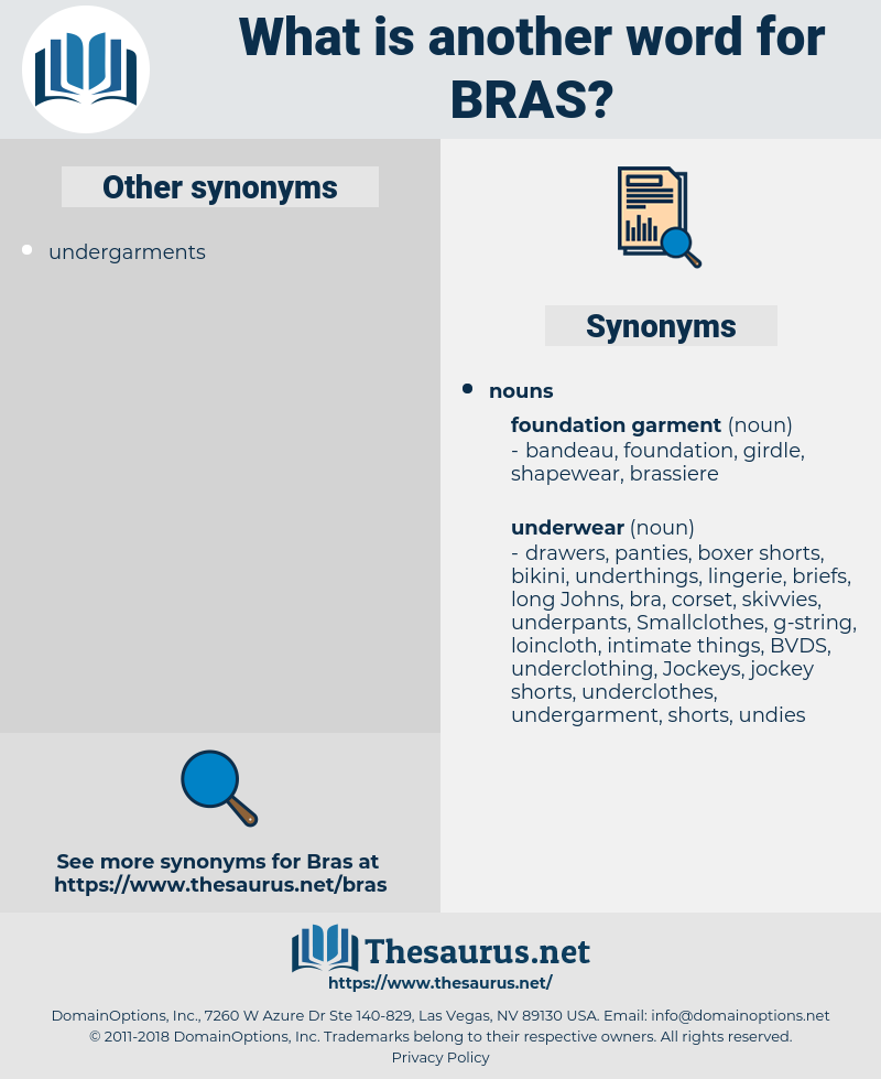 BRAS, synonym BRAS, another word for BRAS, words like BRAS, thesaurus BRAS