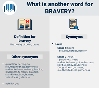 bravery, synonym bravery, another word for bravery, words like bravery, thesaurus bravery