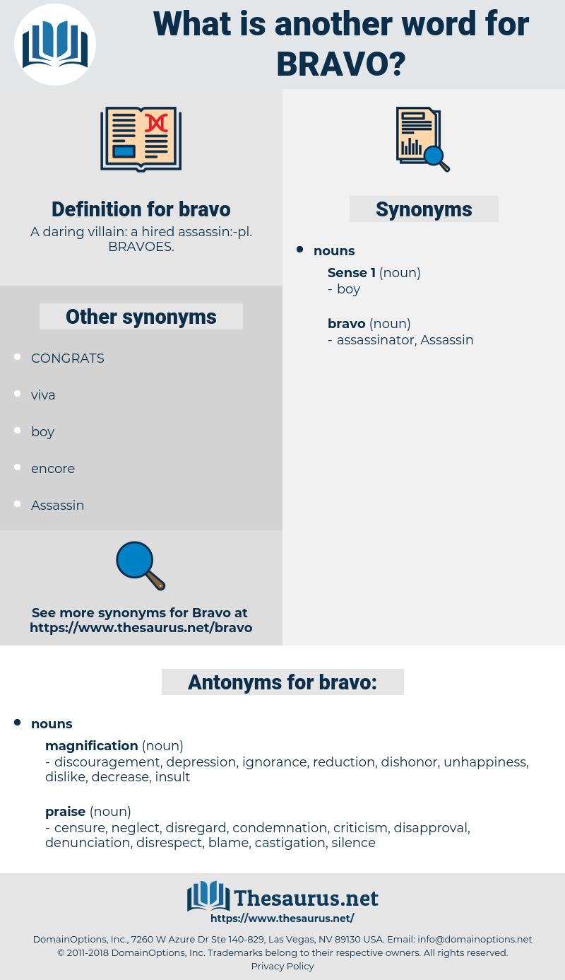 bravo, synonym bravo, another word for bravo, words like bravo, thesaurus bravo