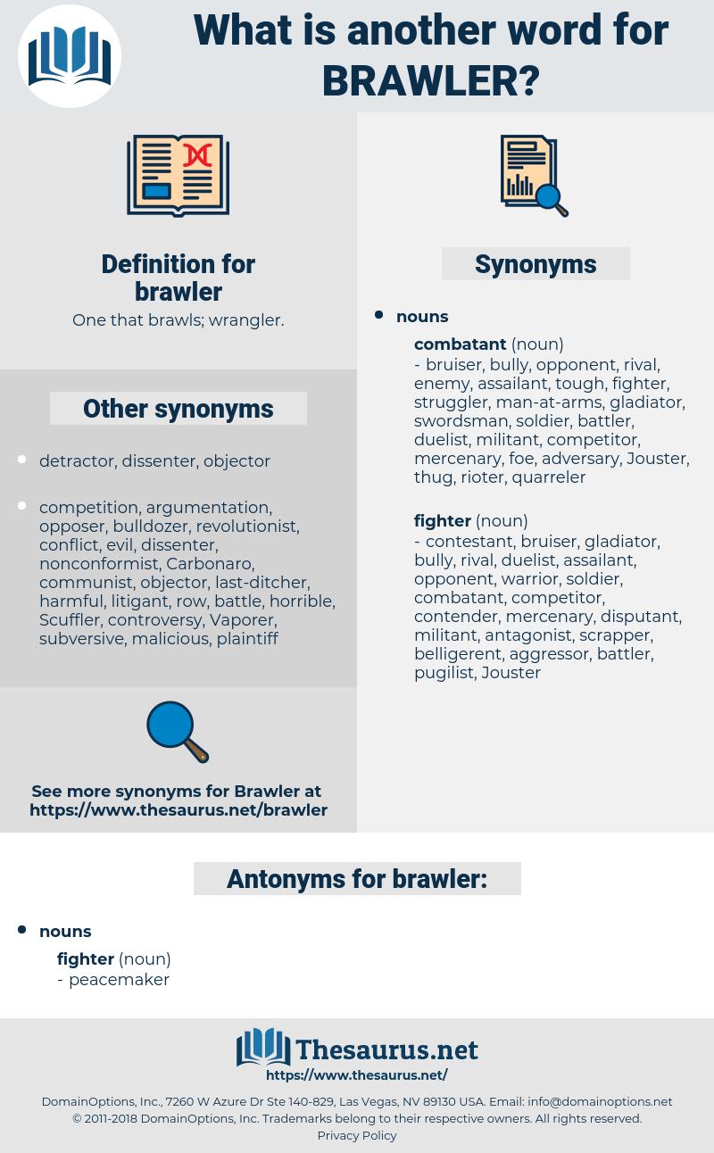 brawler, synonym brawler, another word for brawler, words like brawler, thesaurus brawler