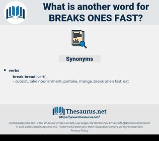 breaks ones fast, synonym breaks ones fast, another word for breaks ones fast, words like breaks ones fast, thesaurus breaks ones fast