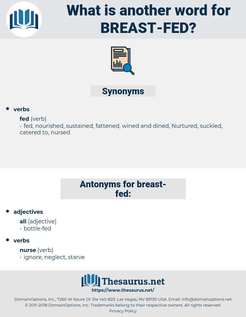 breast-fed, synonym breast-fed, another word for breast-fed, words like breast-fed, thesaurus breast-fed