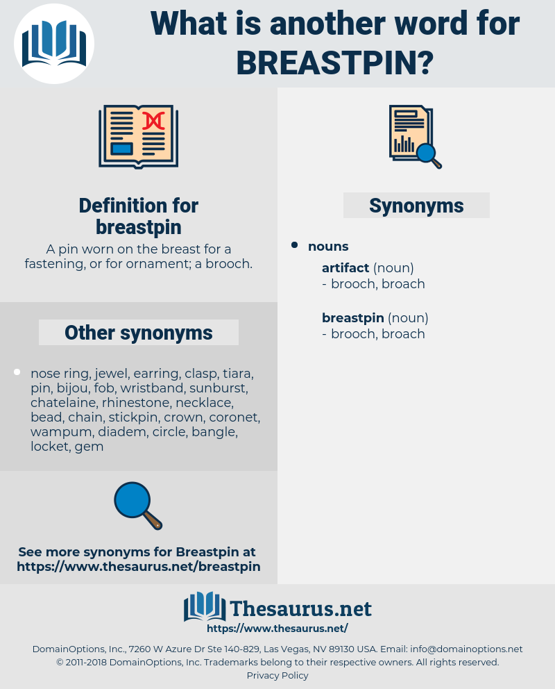 breastpin, synonym breastpin, another word for breastpin, words like breastpin, thesaurus breastpin