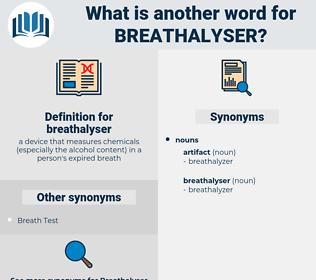 breathalyser, synonym breathalyser, another word for breathalyser, words like breathalyser, thesaurus breathalyser