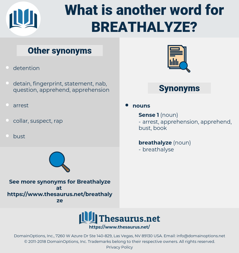 breathalyze, synonym breathalyze, another word for breathalyze, words like breathalyze, thesaurus breathalyze