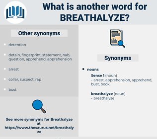 breathalyze, synonym breathalyze, another word for breathalyze, words like breathalyze, thesaurus breathalyze