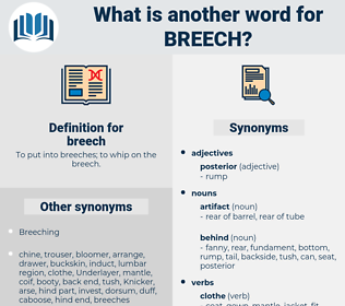 breech, synonym breech, another word for breech, words like breech, thesaurus breech