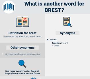 brest, synonym brest, another word for brest, words like brest, thesaurus brest