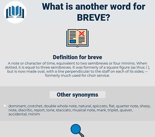 breve, synonym breve, another word for breve, words like breve, thesaurus breve