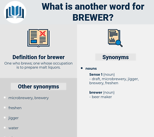 brewer, synonym brewer, another word for brewer, words like brewer, thesaurus brewer