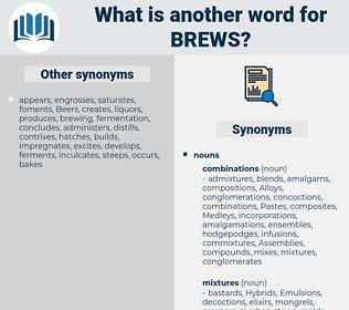 brews, synonym brews, another word for brews, words like brews, thesaurus brews