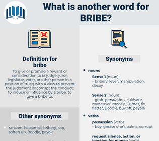 bribe, synonym bribe, another word for bribe, words like bribe, thesaurus bribe