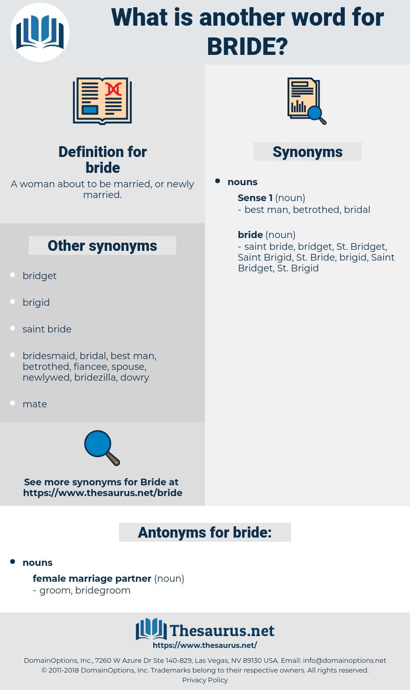 bride, synonym bride, another word for bride, words like bride, thesaurus bride