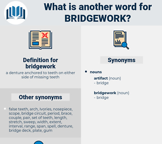 bridgework, synonym bridgework, another word for bridgework, words like bridgework, thesaurus bridgework