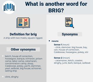 brig, synonym brig, another word for brig, words like brig, thesaurus brig