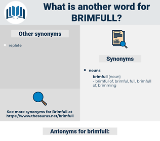 brimfull, synonym brimfull, another word for brimfull, words like brimfull, thesaurus brimfull