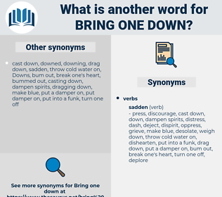 bring one down, synonym bring one down, another word for bring one down, words like bring one down, thesaurus bring one down