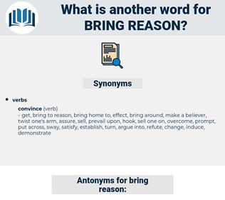 bring reason, synonym bring reason, another word for bring reason, words like bring reason, thesaurus bring reason
