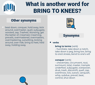 bring to knees, synonym bring to knees, another word for bring to knees, words like bring to knees, thesaurus bring to knees