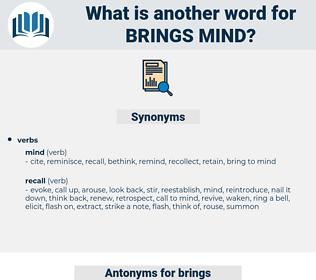 brings mind, synonym brings mind, another word for brings mind, words like brings mind, thesaurus brings mind