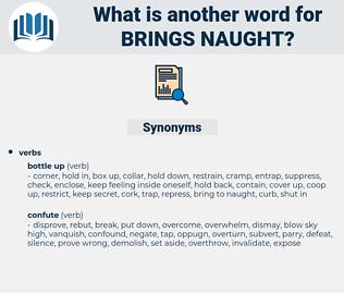 brings naught, synonym brings naught, another word for brings naught, words like brings naught, thesaurus brings naught