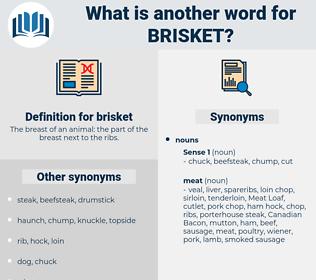 brisket, synonym brisket, another word for brisket, words like brisket, thesaurus brisket