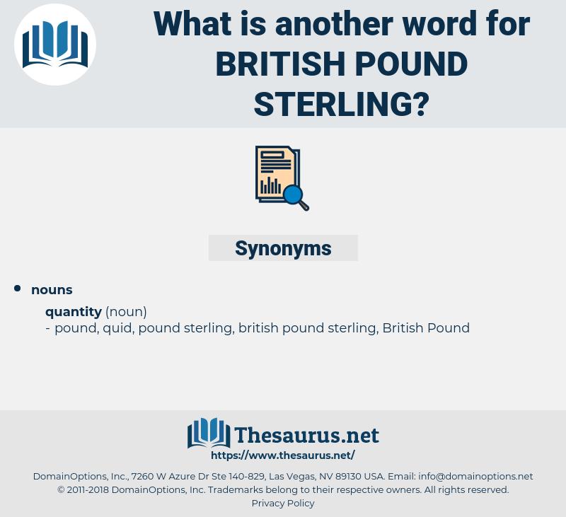 british pound sterling, synonym british pound sterling, another word for british pound sterling, words like british pound sterling, thesaurus british pound sterling