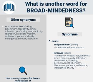 broad-mindedness, synonym broad-mindedness, another word for broad-mindedness, words like broad-mindedness, thesaurus broad-mindedness