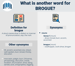 brogue, synonym brogue, another word for brogue, words like brogue, thesaurus brogue