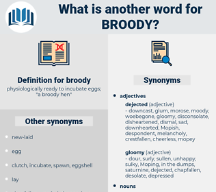 broody, synonym broody, another word for broody, words like broody, thesaurus broody