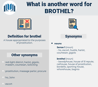brothel, synonym brothel, another word for brothel, words like brothel, thesaurus brothel