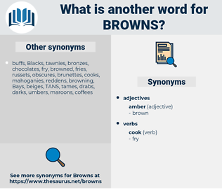 browns, synonym browns, another word for browns, words like browns, thesaurus browns