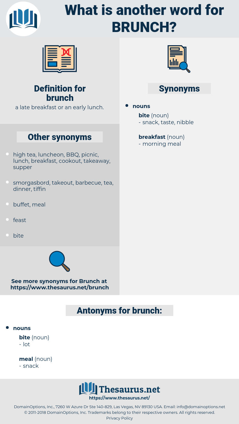 brunch, synonym brunch, another word for brunch, words like brunch, thesaurus brunch