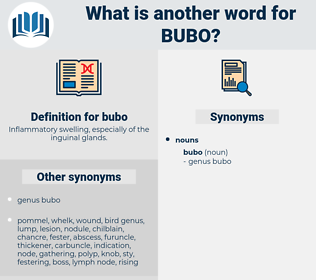 bubo, synonym bubo, another word for bubo, words like bubo, thesaurus bubo