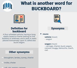buckboard, synonym buckboard, another word for buckboard, words like buckboard, thesaurus buckboard