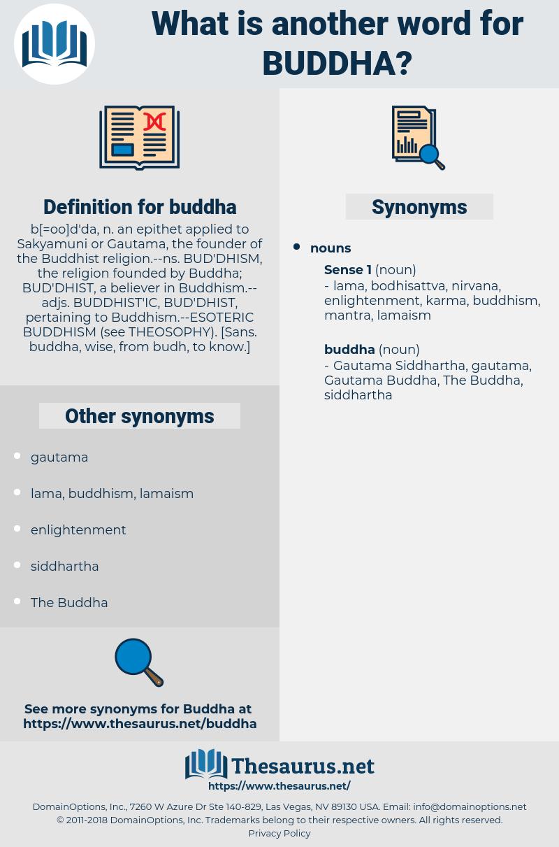 buddha, synonym buddha, another word for buddha, words like buddha, thesaurus buddha