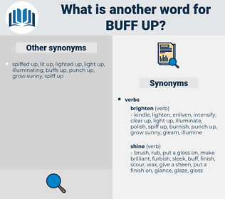 buff up, synonym buff up, another word for buff up, words like buff up, thesaurus buff up