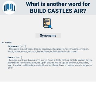 build castles air, synonym build castles air, another word for build castles air, words like build castles air, thesaurus build castles air