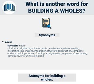 building a wholes, synonym building a wholes, another word for building a wholes, words like building a wholes, thesaurus building a wholes
