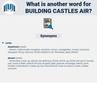 building castles air, synonym building castles air, another word for building castles air, words like building castles air, thesaurus building castles air